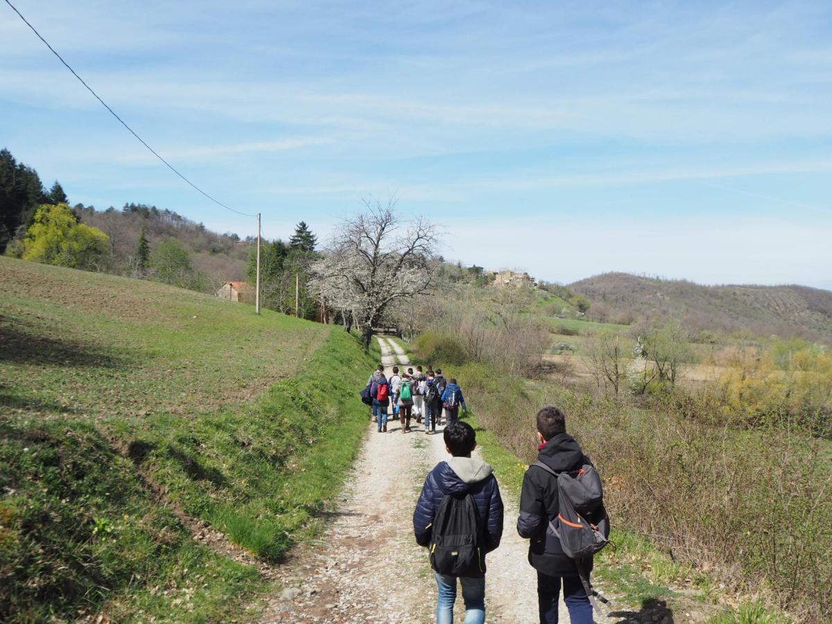 Agri Rifugio Tòsina Antica Foresteria foto 12